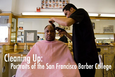 Portraits of the San Francisco Barber College